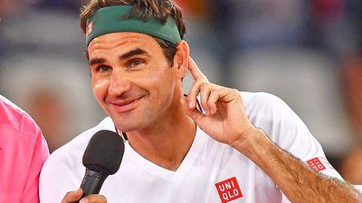 No. 1 - Roger Federer