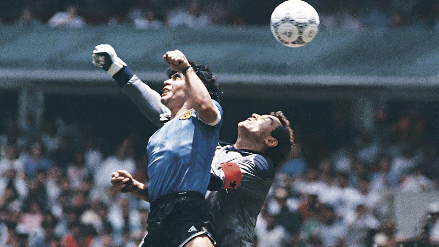 Maradona's 'Hand of God' goal epitomised complicated legacy of football genius