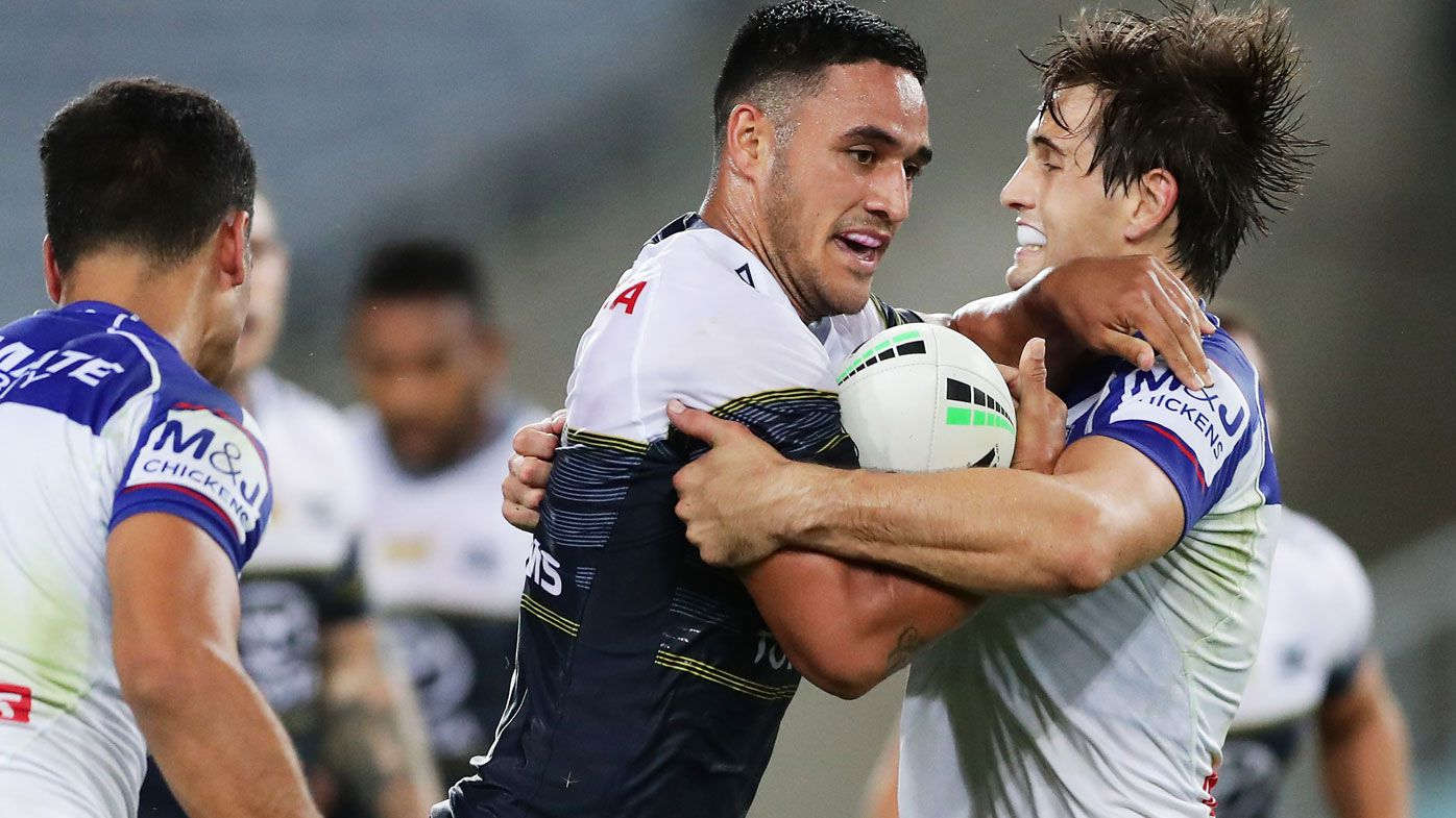 Cowboys blow past the Bulldogs. (Getty)