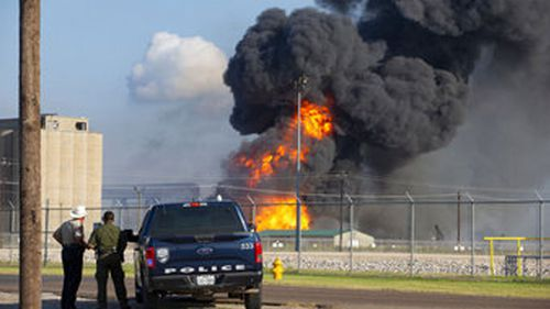 A natural gas pipeline has exploded in Corpus Christi Texas