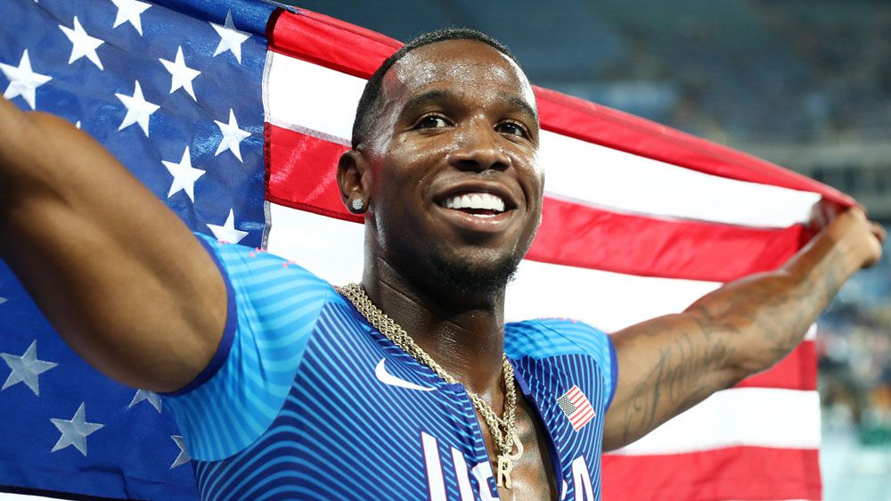 US sprinter Gil Roberts has kissing defence for doping ban upheld