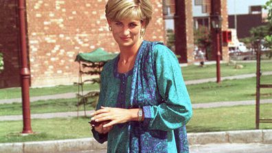 Diana, Princess of Wales, in Lahore, Pakistan