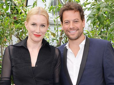 Alice Evans and Ioan Gruffudd attends NET-A-PORTER Celebrates Women Behind The Lens at Chateau Marmont on February 26, 2016 in Los Angeles, California.