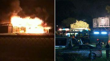 Suspicious fire destroys Brisbane sportsground clubhouse