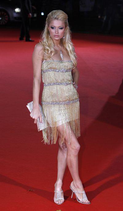 Paris Hilton during World Music Awards 2006, London