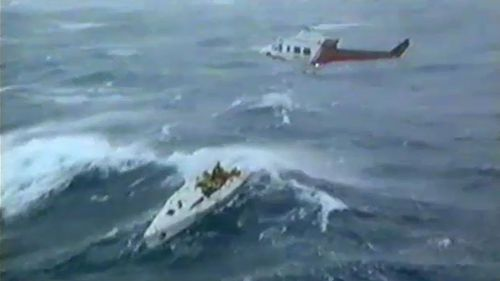 The 1998 Sydney to Hobart turned to tragedy when it was struck by a superstorm.