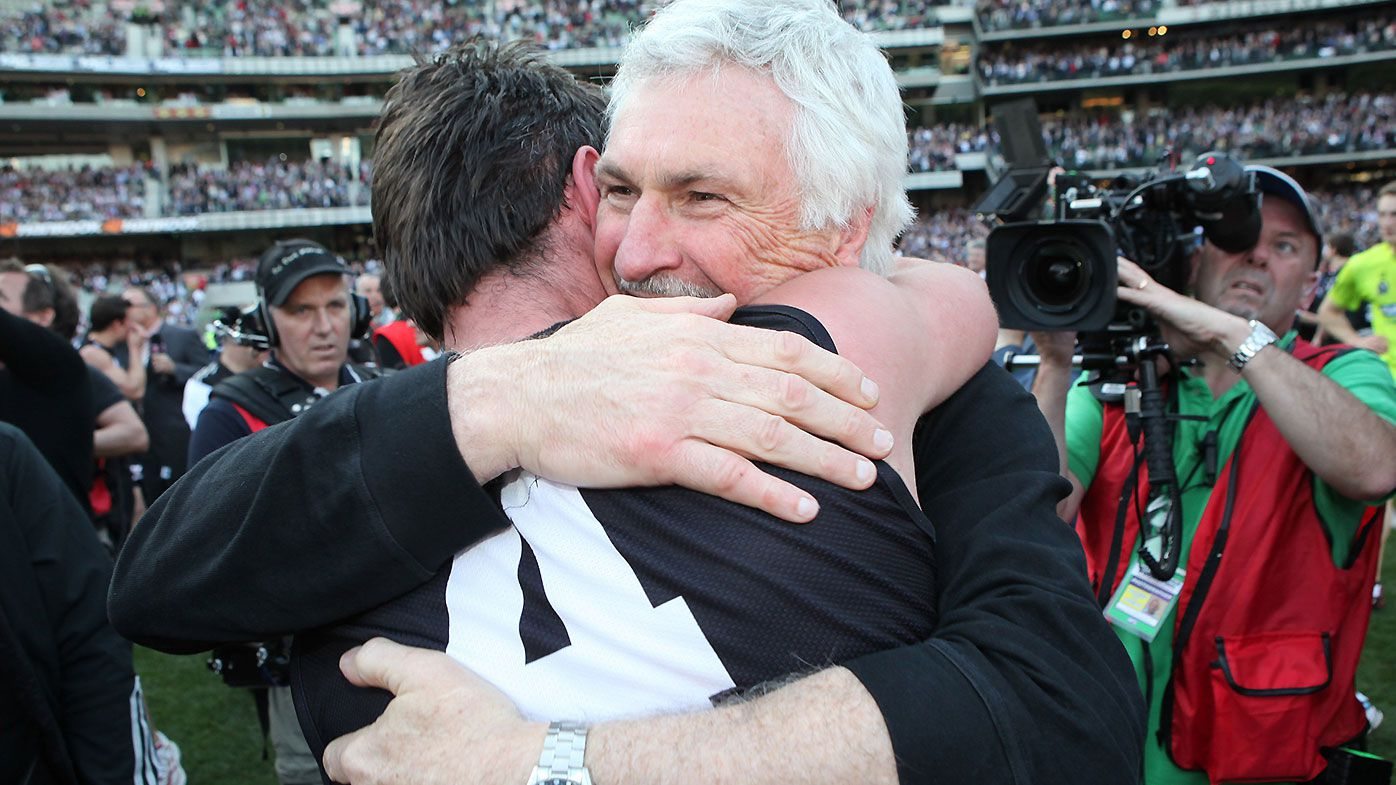 Collingwood great Alan Didak defends former coach Mick Malthouse after recent criticism