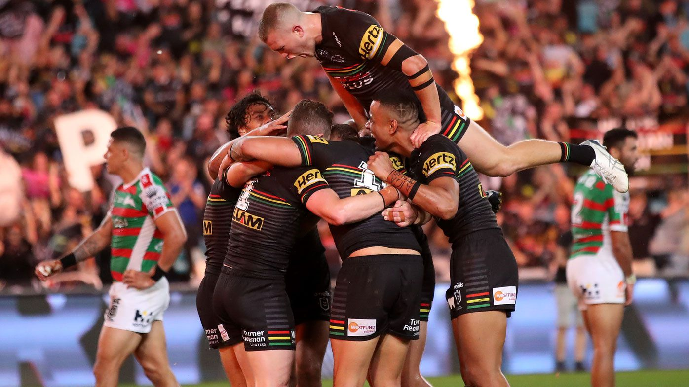 Panthers secure NRL grand final berth. (Getty)