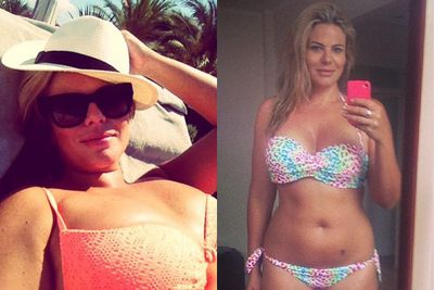 Fiona spent holiday time in July soaking up the sun in Ibiza... and showing off that amazing bod!<br><br>Images: Fiona Falkiner/Facebook