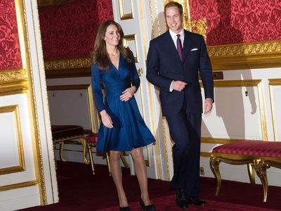 Prince William and Kate Middleton announce their engagement, November 2010