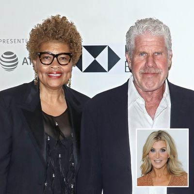 Ron Perlman and Opal Perlman