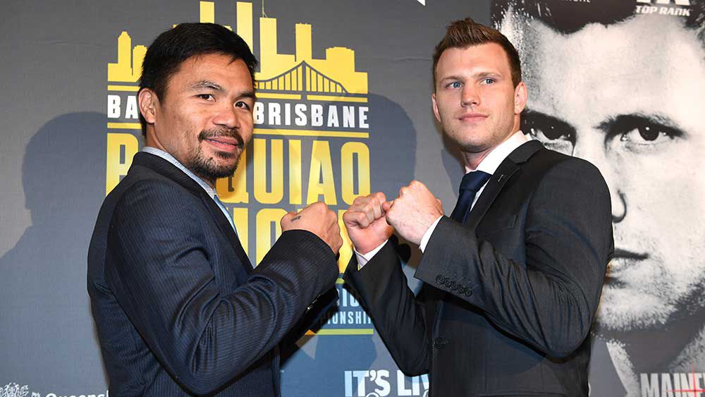 Jeff Horn: Manny Pacquiao will not be 'at his very best'