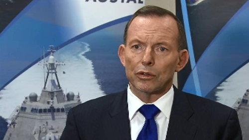 Prime Minister Tony Abbott spoke to reporters in Perth. (9NEWS)