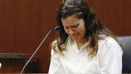 Brooke Crews testifies at her boyfriend William Hoehn's trial.