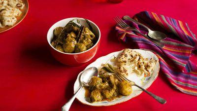 "Recipe: <a href=""http://kitchen.nine.com.au/2016/11/18/10/50/nyonya-chicken-curry"" target=""_top"">Nyonya chicken curry</a>"
