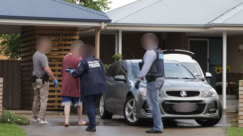 Four people are facing court over an alleged child abduction ring.