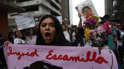 Ingrid Escamilla's death galvanised the anti-femicide movement in Mexico City.