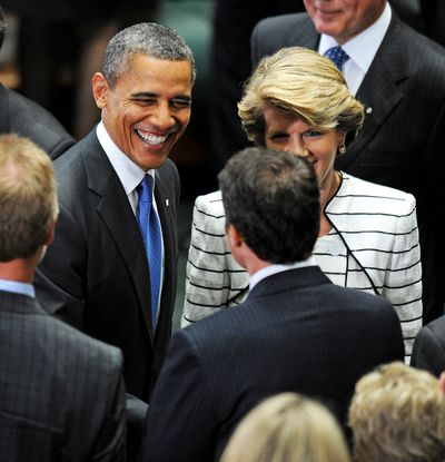 <strong>Rubbed shoulders with world leaders</strong>