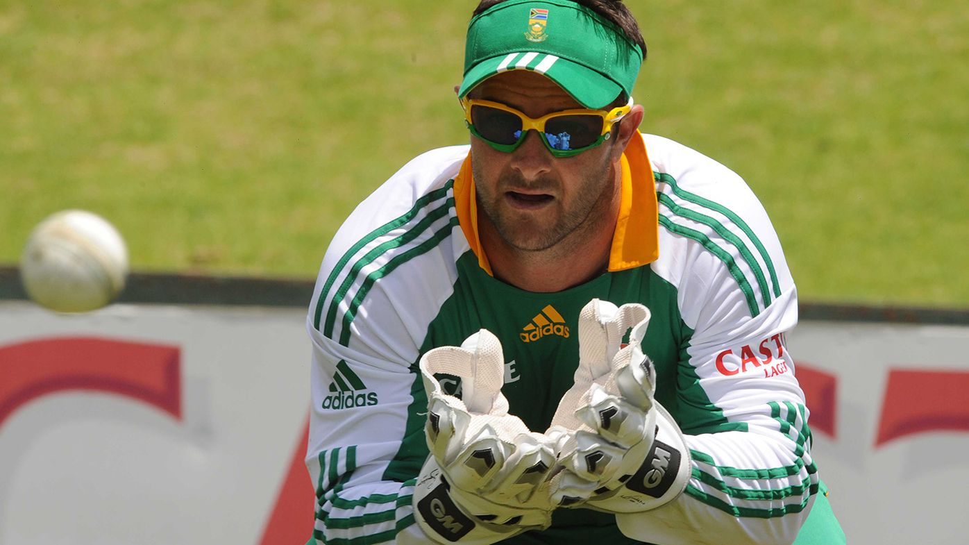 Former South African wicketkeeper Mark Boucher.
