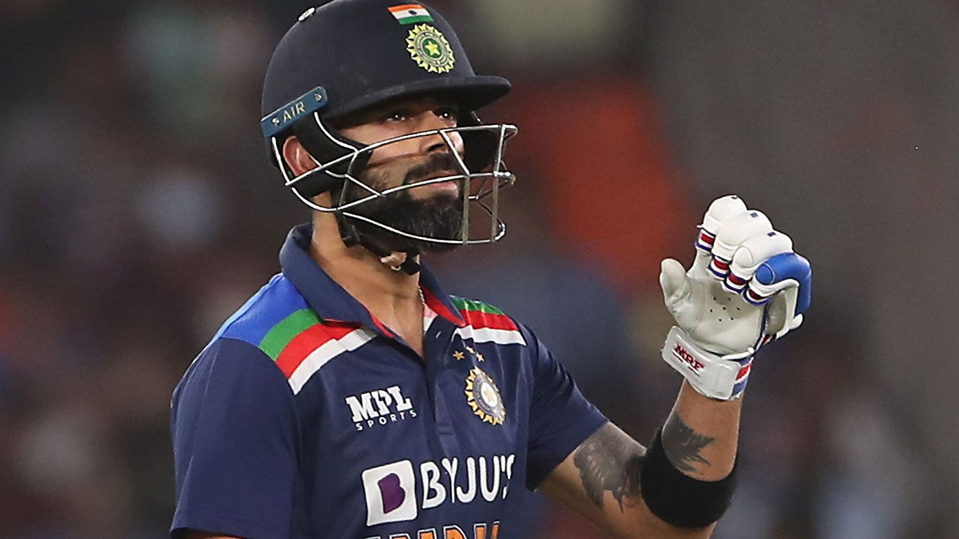 Virat Kohli bags third duck in five innings as England smash India in opening T20 – Wide World of Sports