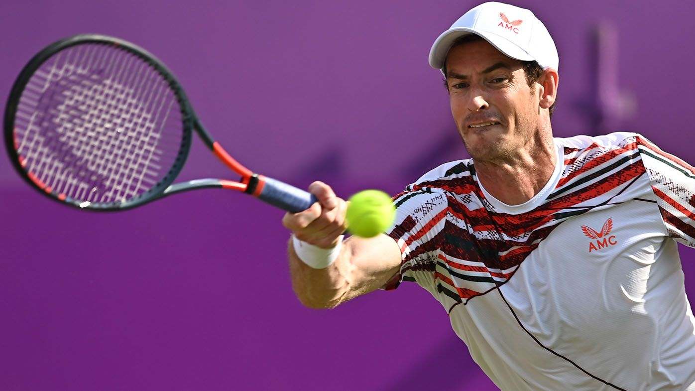 Andy Murray emotional after his first ATP Tour match victory in more than a year