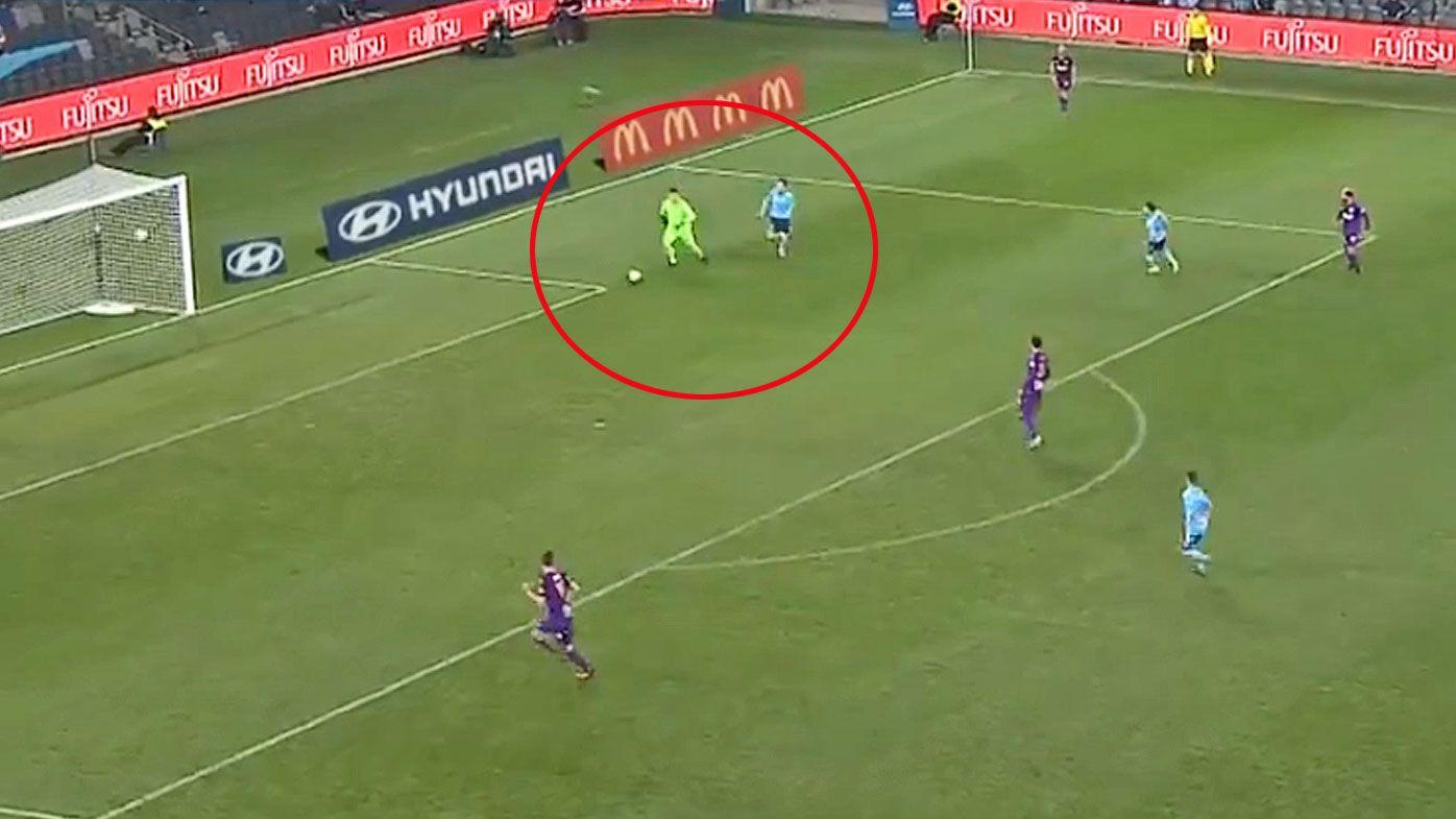 Liam Reddy coughs up a goal to Adam Le Fondre