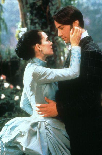 Winona Ryder, Keanu Reeves, Dracula, scene
