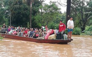 Laos hydroelectric dam collapse leaves multiple dead and hundreds missing