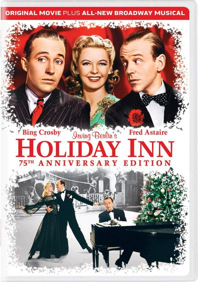 Christmas, movies, advent calendar, Bing Crosby, Marjorie Reynolds, Fred Astaire, Holiday Inn