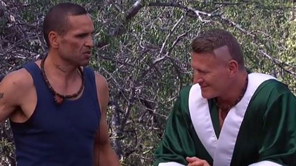 Boxers Anthony Mundine and Danny Green face off on 'I'm a Celebrity ... Get Me Out of Here!'