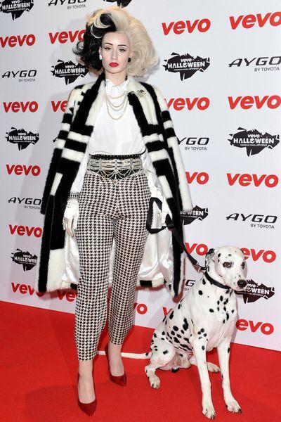 Iggy Azalea as Cruella de Vil, 2013