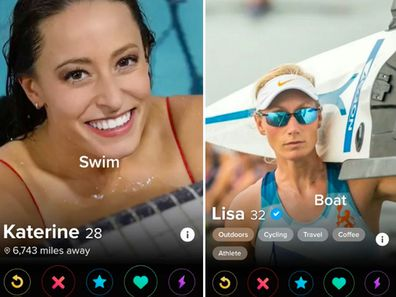Comedian Reed Kavner used Tinder plus to find love with an Olympic athlete