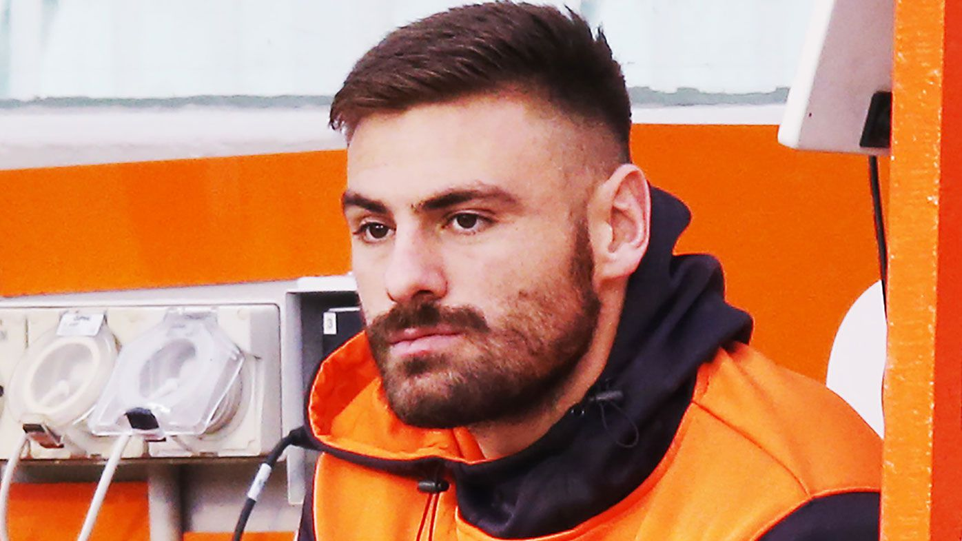 GWS Giants coach Leon Cameron fires up over Stephen Coniglio knee injury