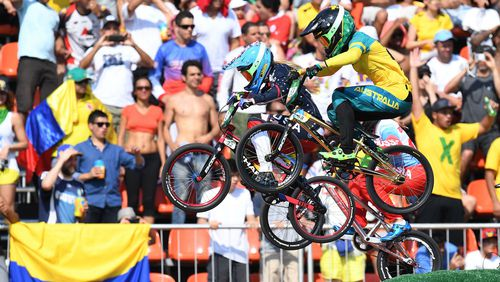 Aussie cycling star Caroline Buchanan represented Australia at the 2016 Rio Olympics. (Getty)