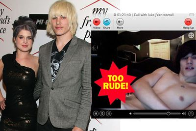 "Kelly Osbourne's ex Luke Worrall kicked off the sex scandal year in D-list style, with a webcam screenshot of him showing off his… instrument surfacing online. When it made its way back to Kelly, she tweeted, ""Wow!!! Wow is all I can say I'm in shock right now!"" which translates to: ""Hahahaha! Suffer!!!"""