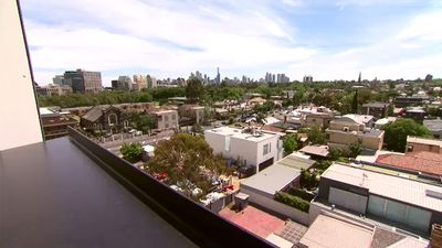 While we can't show you how the terraces look (you'll need to stay tuned to Channel 9 after 9NEWS to see that) we can show you the views the winning bidders will get to enjoy. (9NEWS)