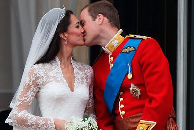 The most anticipated wedding of the year. <b>Prince William</b> and<b> Kate Middleton</b> shared their first kisses as a royal couple</a> on the balcony of Buckingham Palace in April.