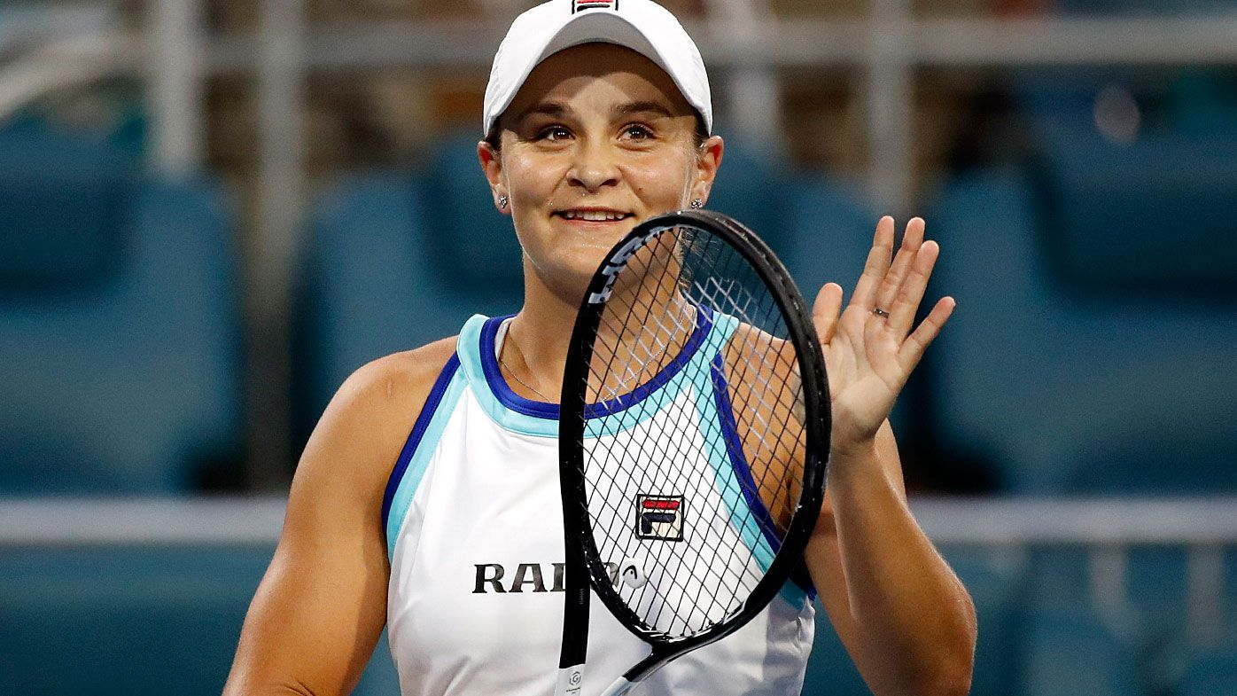 Ash Barty powers into WTA Miami Open decider after 12-hour slog