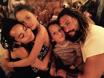 Jason Momoa, Lisa Bonet, family, photo, kids, Lola, Nokoa-Wolf