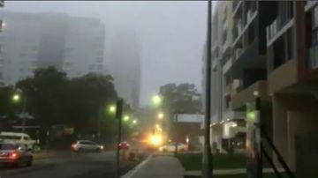 Heavy fog has enveloped Sydney.
