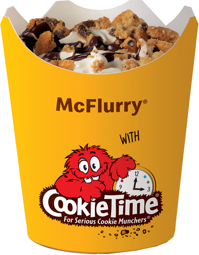 McDonald's Cookie Time McFlurry