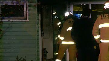 'Heroic' police officers save mother and son from house fire