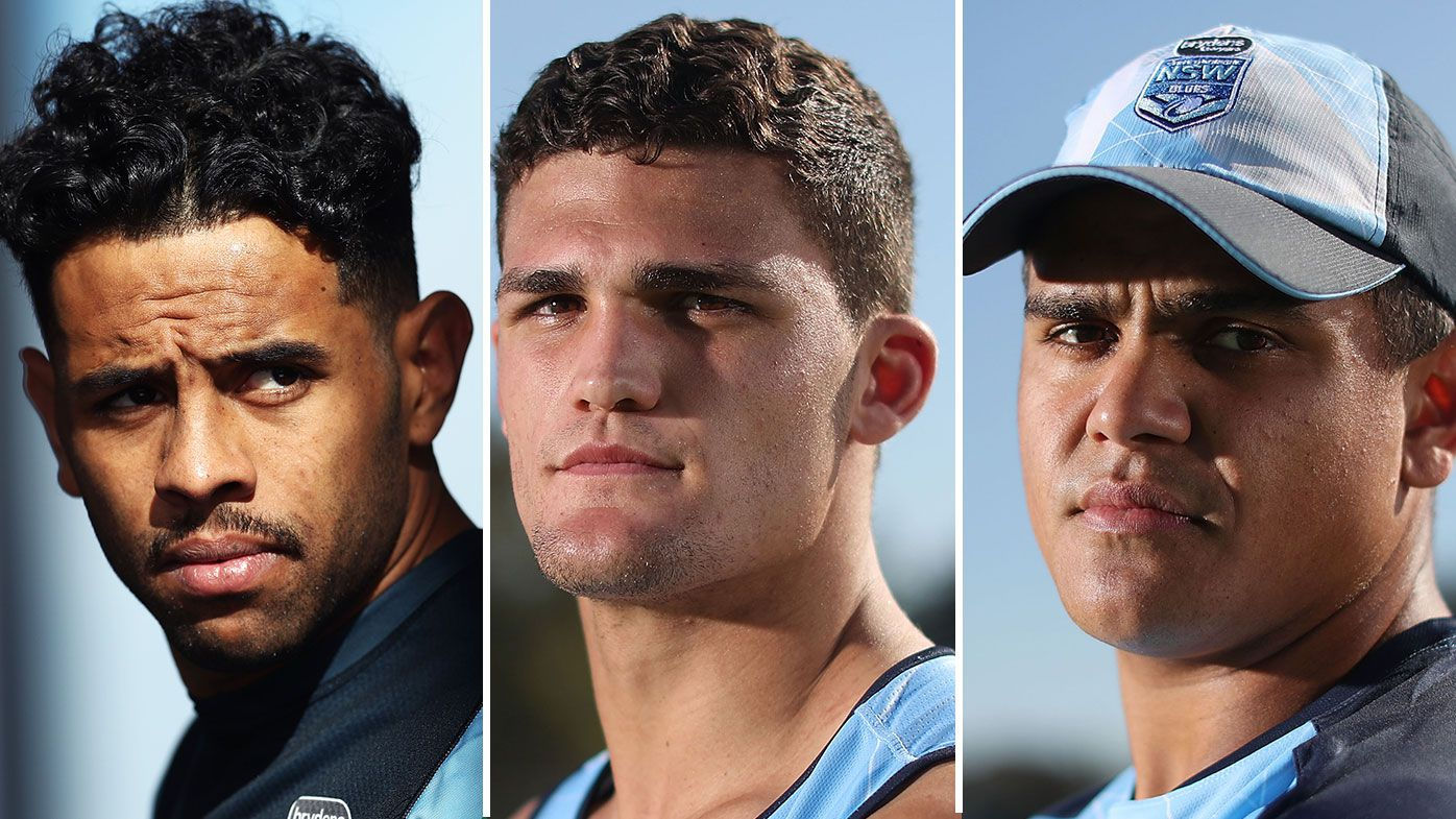 Josh Addo-Carr, Nathan Cleary, Latrell Mitchell