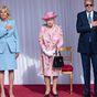 Queen Elizabeth hosts US President Joe Biden and the First Lady at Windsor Castle