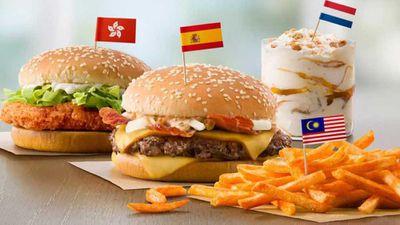 McDonald's imports global menu in U.S.