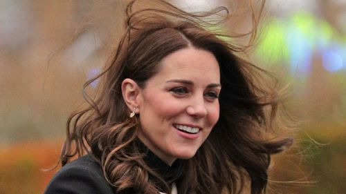 The Duchess of Cambridge attended the challenge with her husband. (AAP)