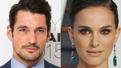 <p>David Gandy and Natalie Portman were judged the most beautiful celebrities.</p>