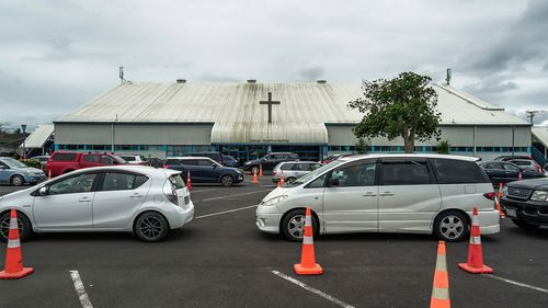 A large number of NZ's COVID-19 cases are linked to the Assembly Of God Church in South Auckland's Māngere. There is a pop-up testing clinic set up onsite.