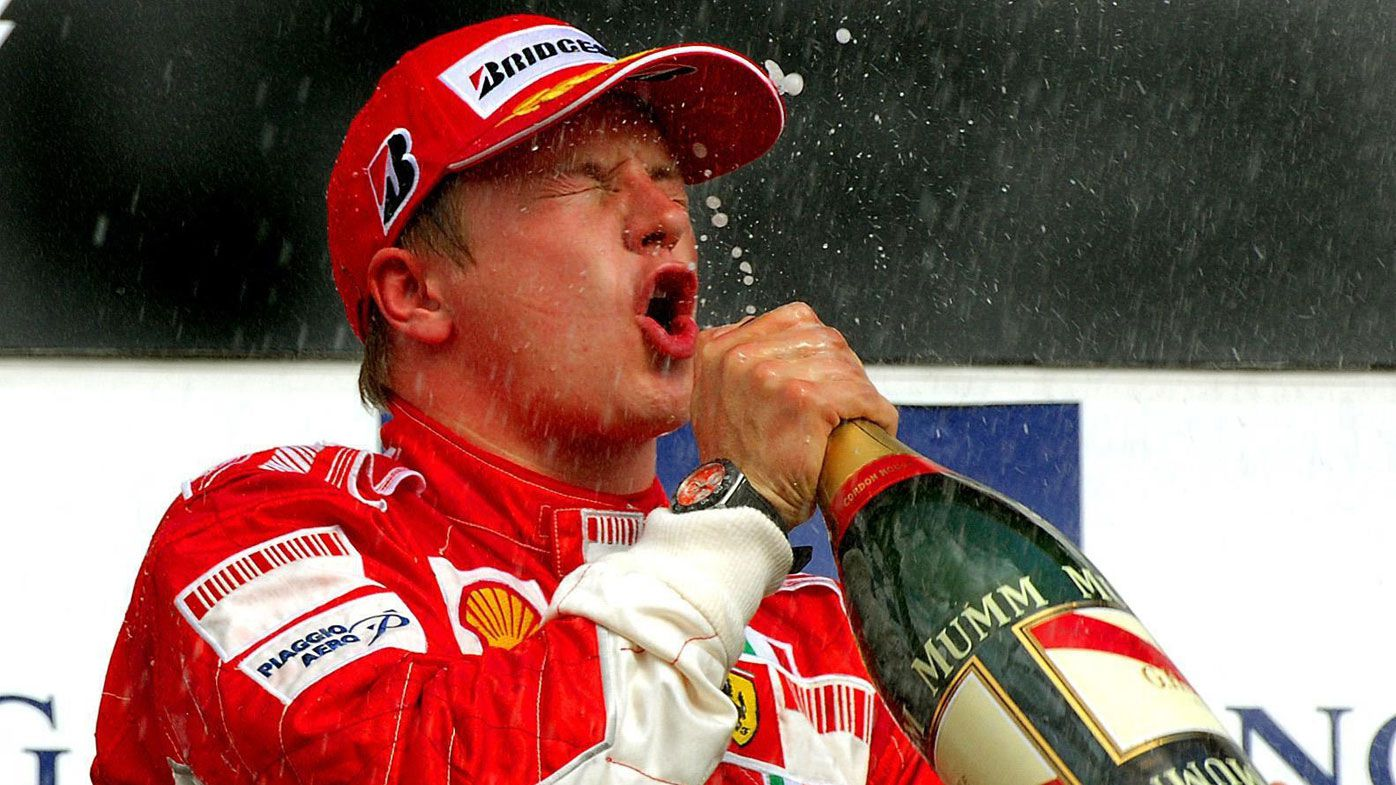 F1 star Kimi Raikkonen says partying made him a better driver