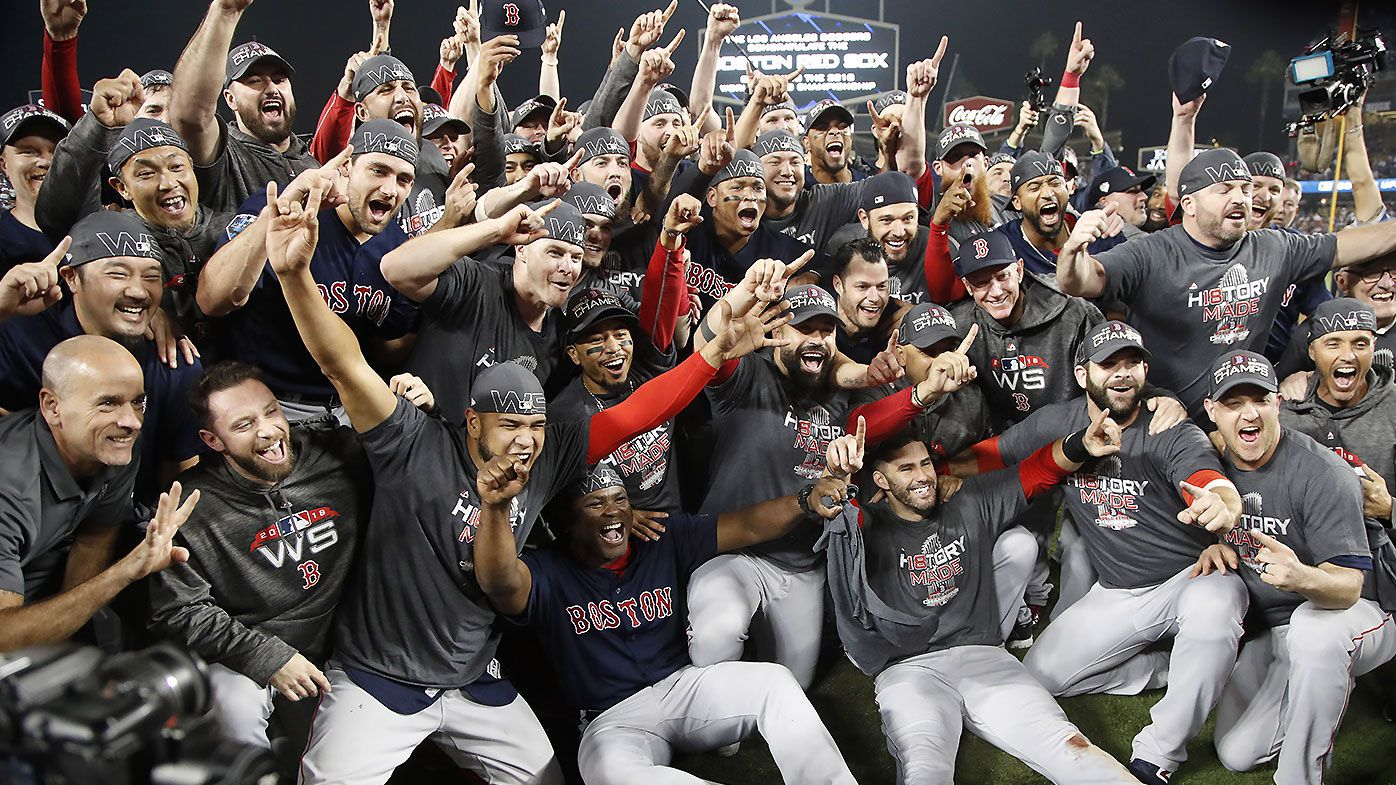 Steve Pearce named series MVP as Boston Red Sox take out ninth World Series title